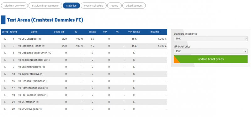 Football-o-Rama free online soccer manager