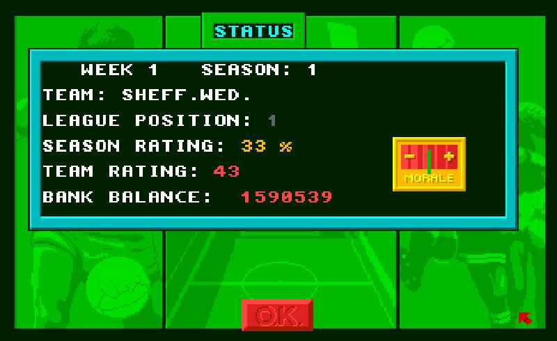 games similar to 1st Division Manager