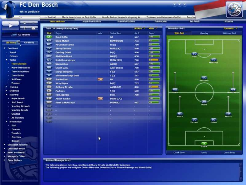 games similar to Championship Manager 2010
