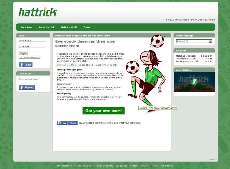 Hattrick Soccer Manager