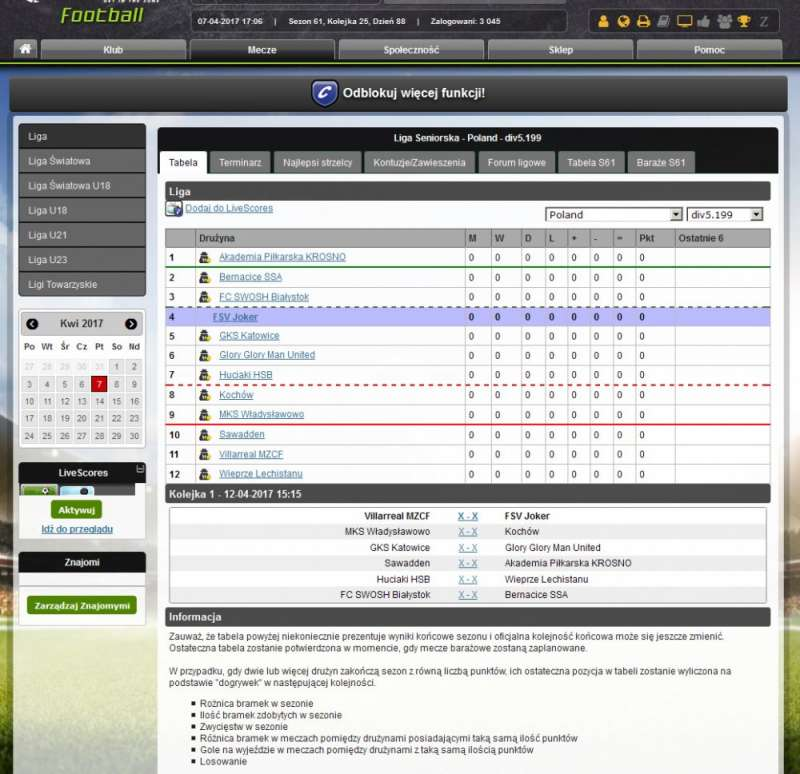free soccer manager online