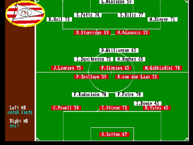 games similar to PSV Eindhoven Manager